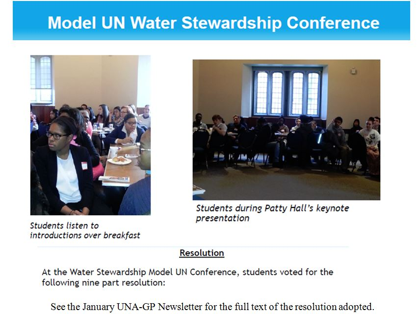 Model UN 2015 January