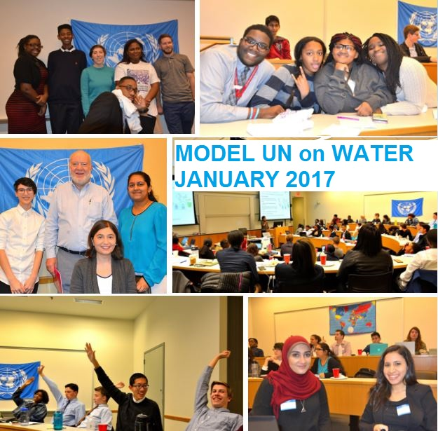 Model UN on Water, Jan 2017